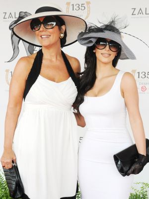 Reminder: What Kim Kardashian West Wore to the Kentucky Derby in 2009