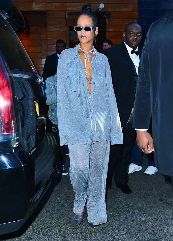 Met Gala After Party Rihanna