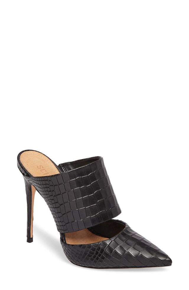 Quereda Pointy Toe Mule