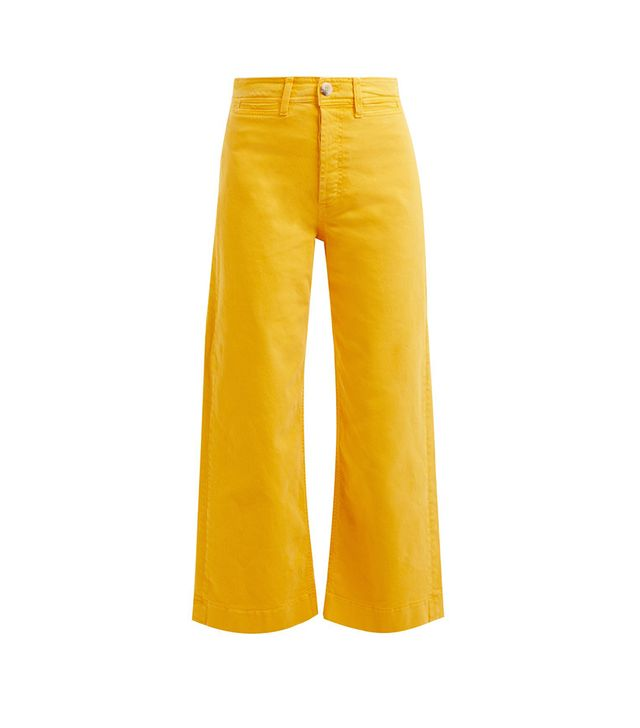 Caron high-rise cropped jeans