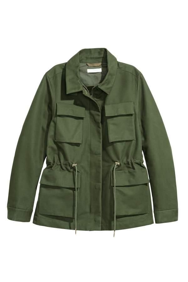 Cotton Cargo Jacket