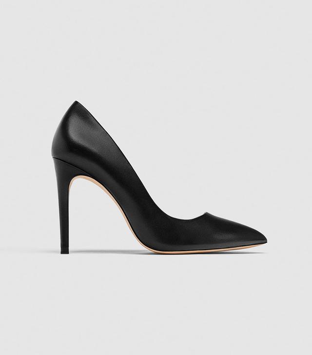 Zara High Heel Leather Pumps