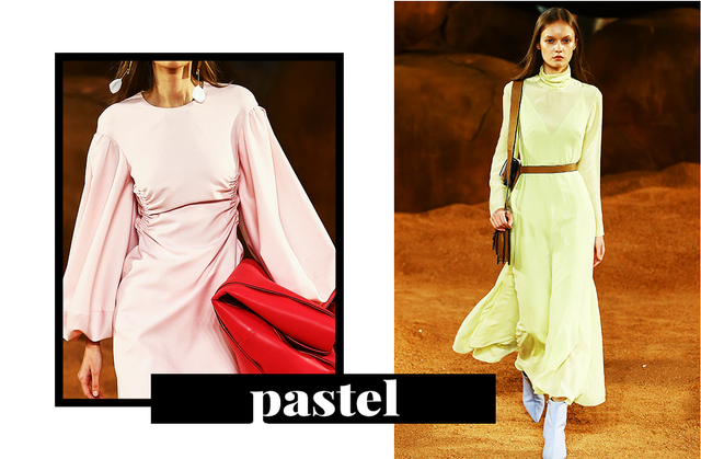 Pastel hues are everywhere in 2018, and Fashion Week Australia doesn't seem to be any exception. Paired with unexpected shades, pastels are feeling a lot fresher this year.