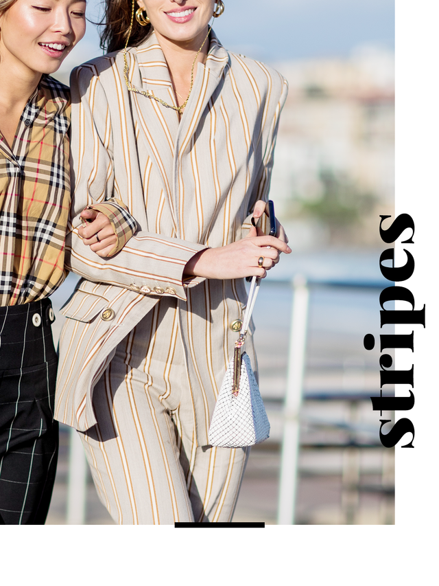 Not only do stripes add an upscale feel to any outfit, but they're also extremely flattering, as they have the ability to elongate your figure. Here's all the proof you need.