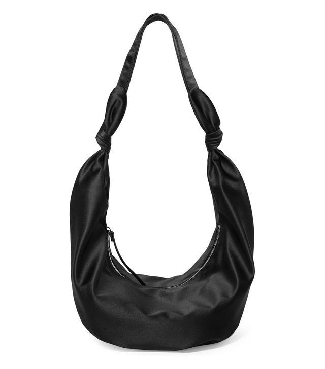 Gwen Satin Shoulder Bag