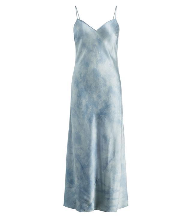 Polo Ralph Lauren Tie-Dye Silk Maxidress