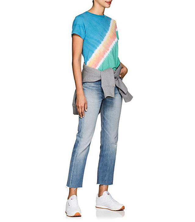 Women's Tie-Dyed Cotton T-Shirt