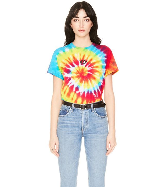Veda Third Eye Short Sleeve Tee Rainbow
