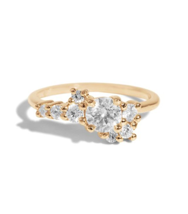 Bario Neal Cluster Diamond Ring