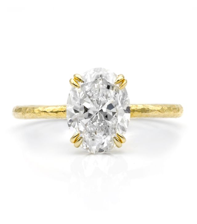 Octavia Elizabeth The Olivia Solitaire Hammered