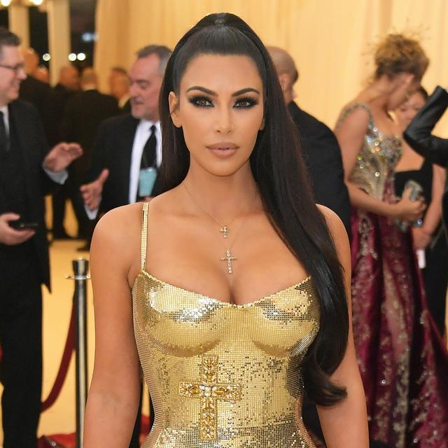 Kim Kardashian West Looks Other-Worldly at the Met Gala