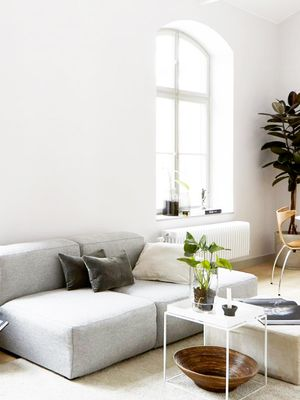 These Gray Couches Were Practically Made for Small Living Rooms