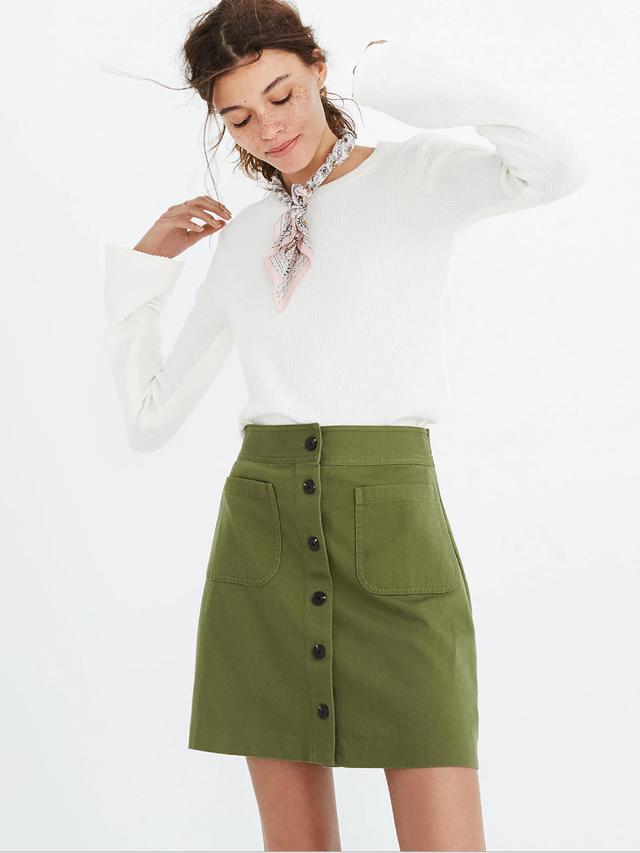 Station Mini Skirt
