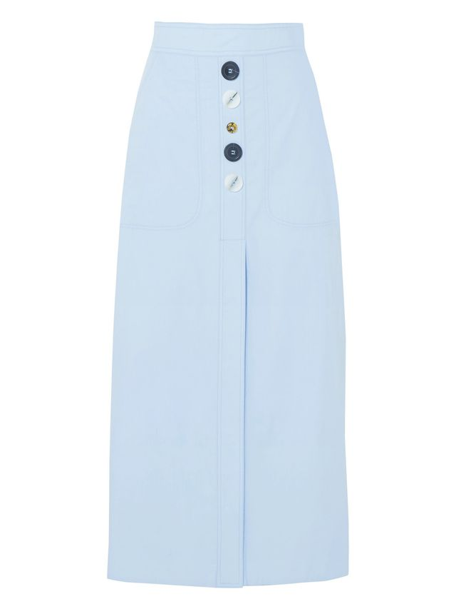 Future Legend Cotton-poplin Midi Skirt