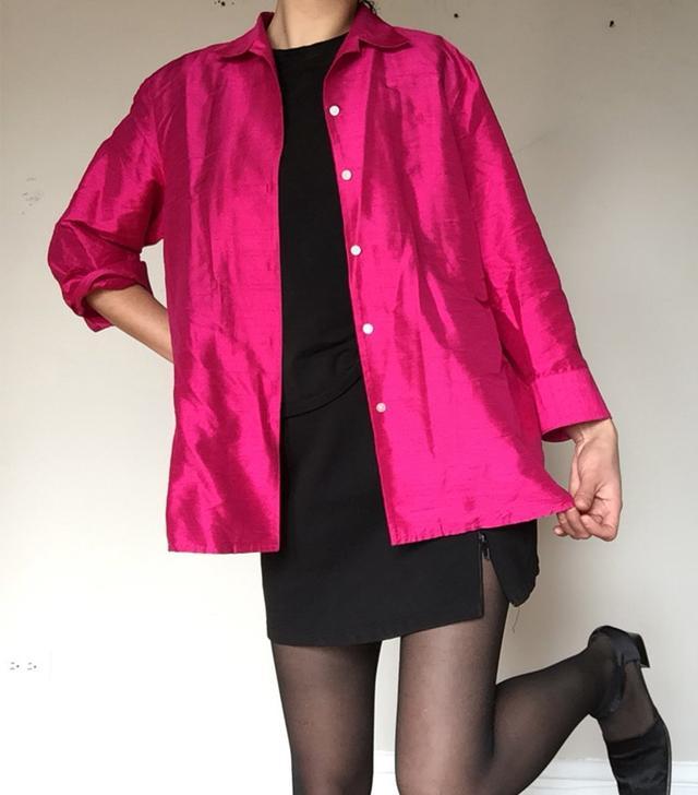 Copyhost Hot Pink Silk Shirt