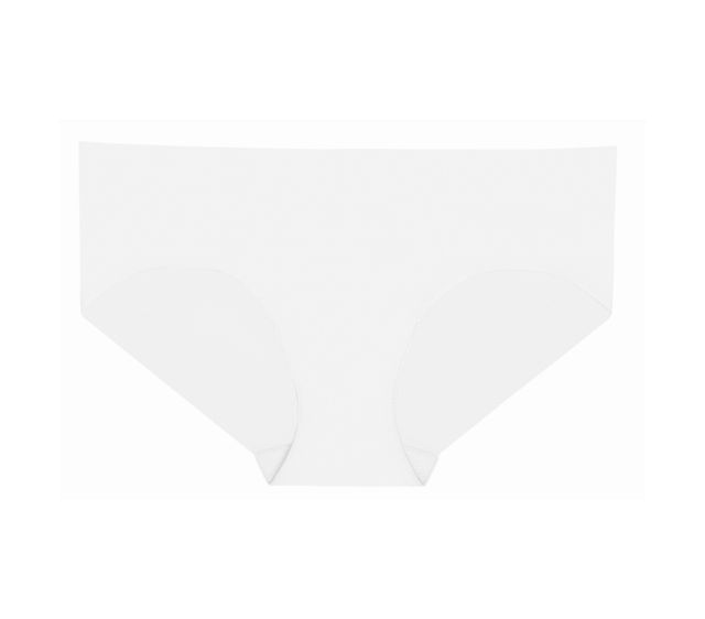 Commando Classic Solid Bikini in White