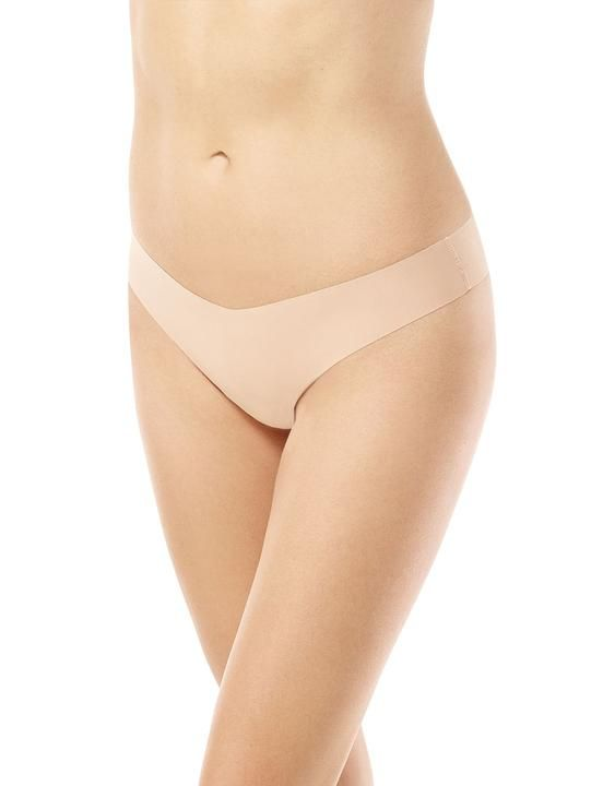 Commando Classic Solid Thong in Nude