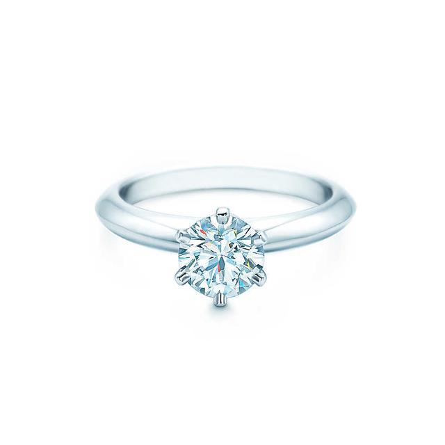 Tiffany & Co. The Tiffany Setting Engagement Ring