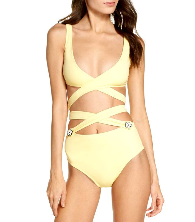 Women's Solid & Striped The Lauren Strappy One-Piece Swimsuit