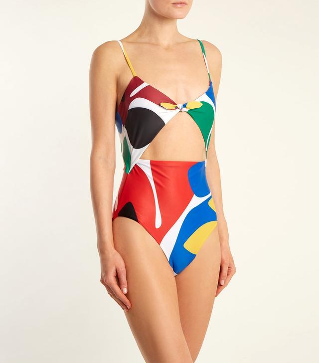 Kia cut-out swimsuit