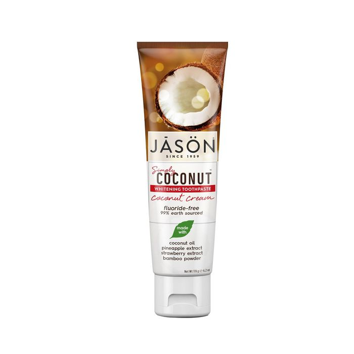 Simply Coconut Whitening Toothpaste by Jāsön