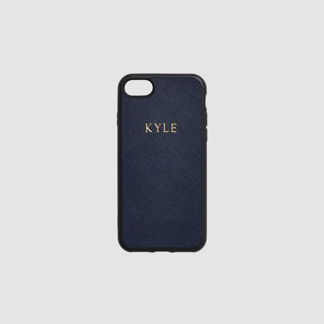 The Daily Edited iPhone 7 Ink Navy Case