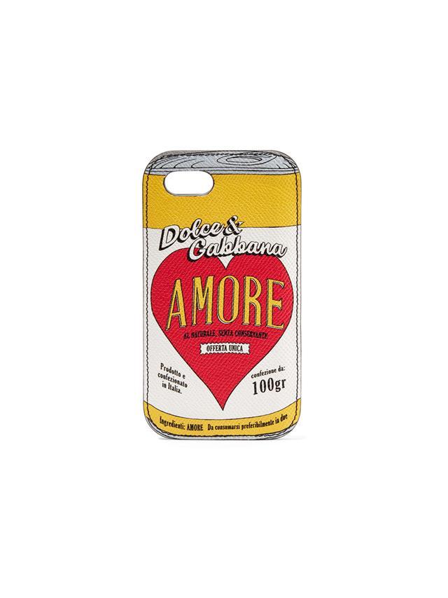 Dolce & Gabbana iPhone 8 Leather Case