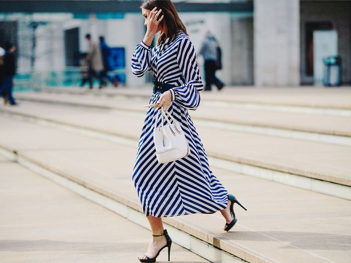 How to style striped pieces