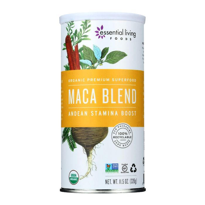 Maca Blend Vitality Smoothie Mix by Essential Living Foods