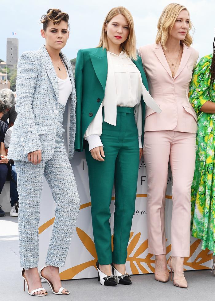 Kristen Stewart, Lea Seydoux and Cate Blanchett in Cannes