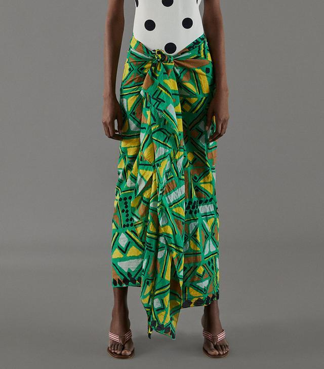 Zara African Print Sarong