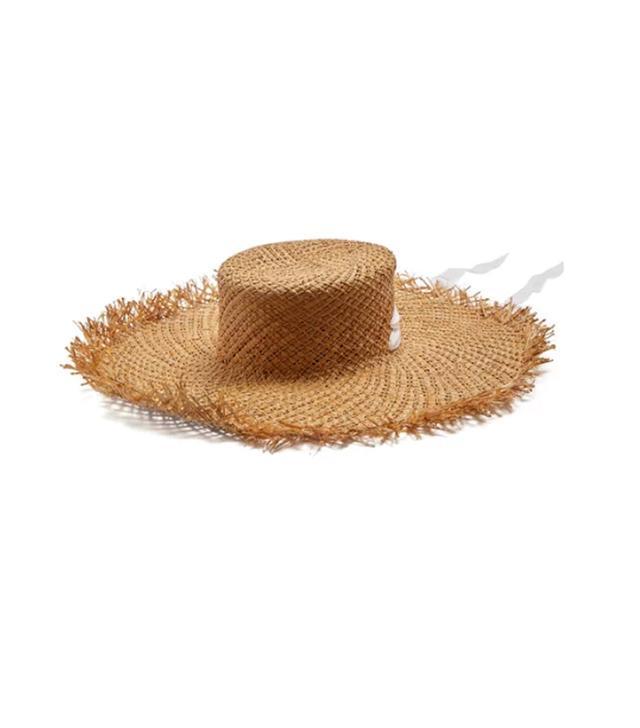 Puglia wide-brimmed straw hat