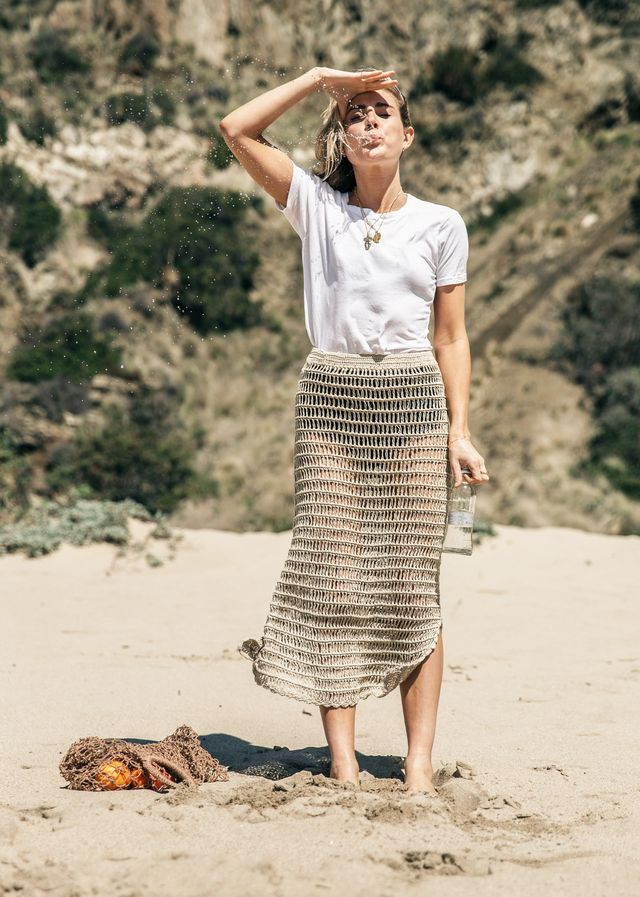 Beachwear trends: Lucy Williams in crochet
