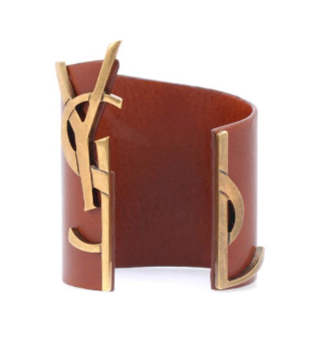 Opyum Monogram leather bracelet