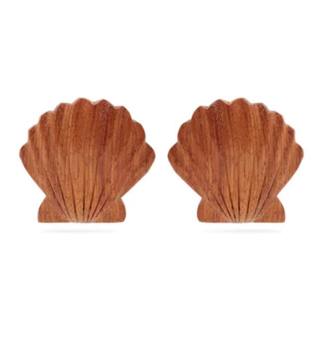 Ariel clip-on earrings