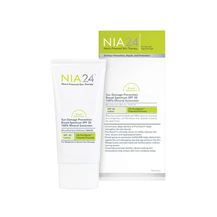 Sun Prevention 100 Percent Mineral Sunscreen SPF 30 by Nia 24