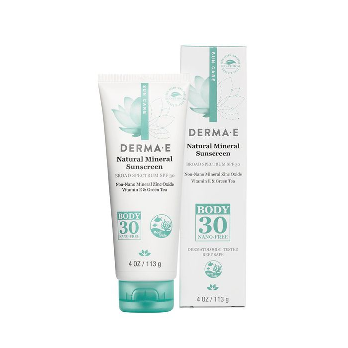 Natural Mineral Sunscreen SPF 30 Oil-Free Face Lotion by Derma E