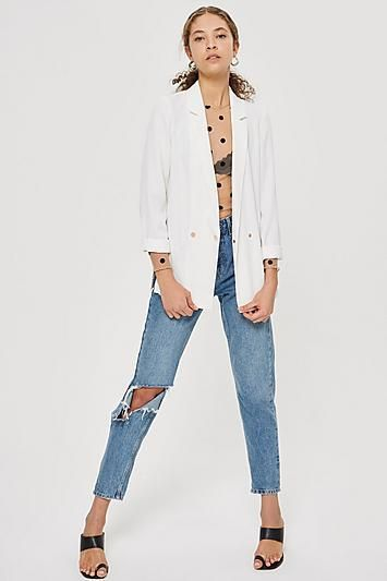 Soft Double Breasted Blazer