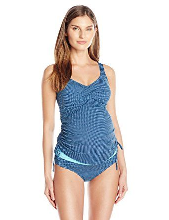 Prego Dot Twist Tankini