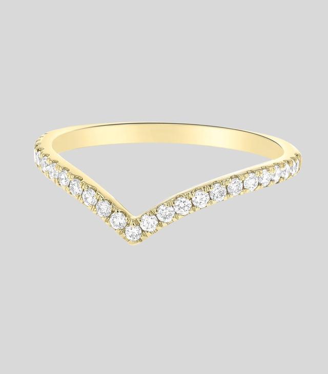 Noémie Chevron Diamond Ring