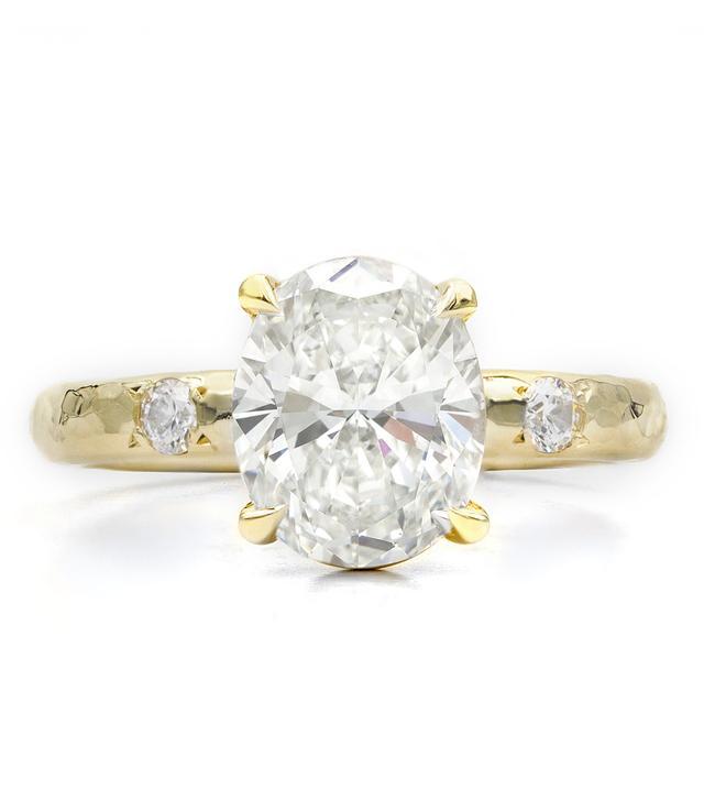 Octavia Elizabeth Diamond Ivy Banded Engagement Ring