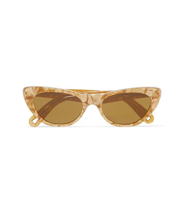 Slice of Heaven Cat-Eye Acetate Sunglasses