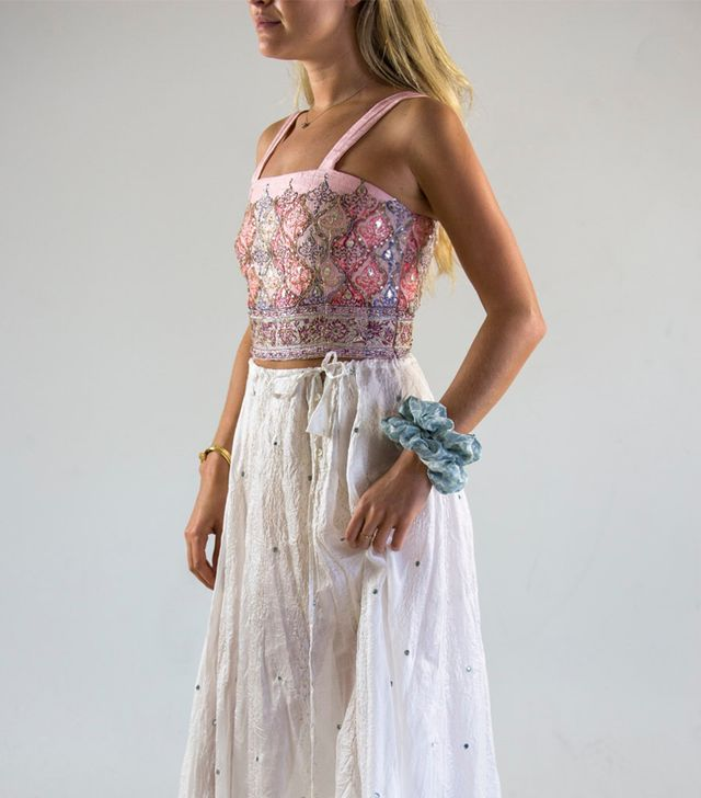 Hannah Artwear Sari Top