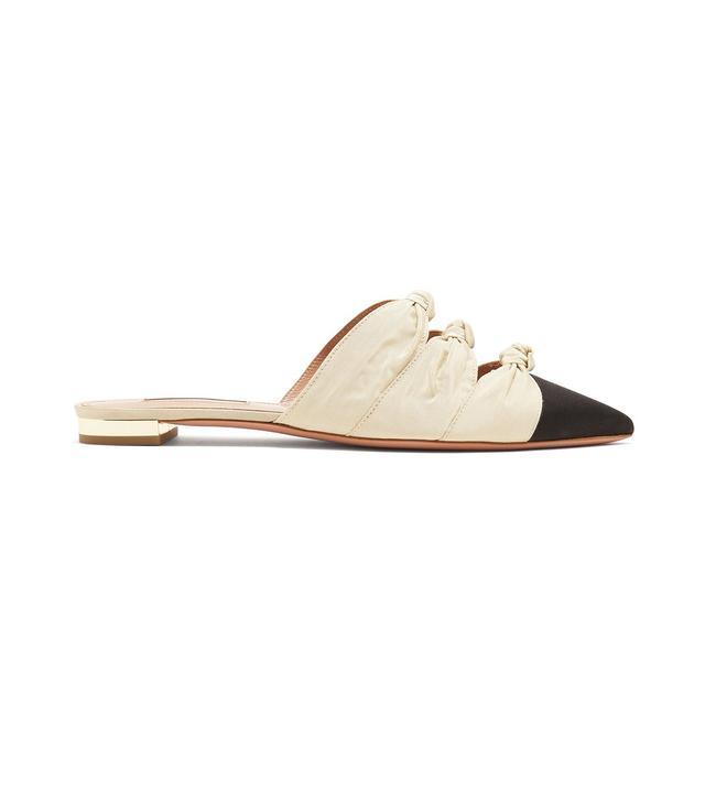 Mondaine Knot-Detail Slipper Shoes