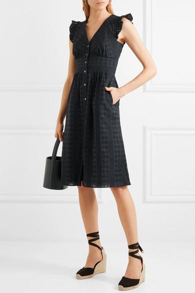 Broderie Anglaise Cotton-poplin Dress