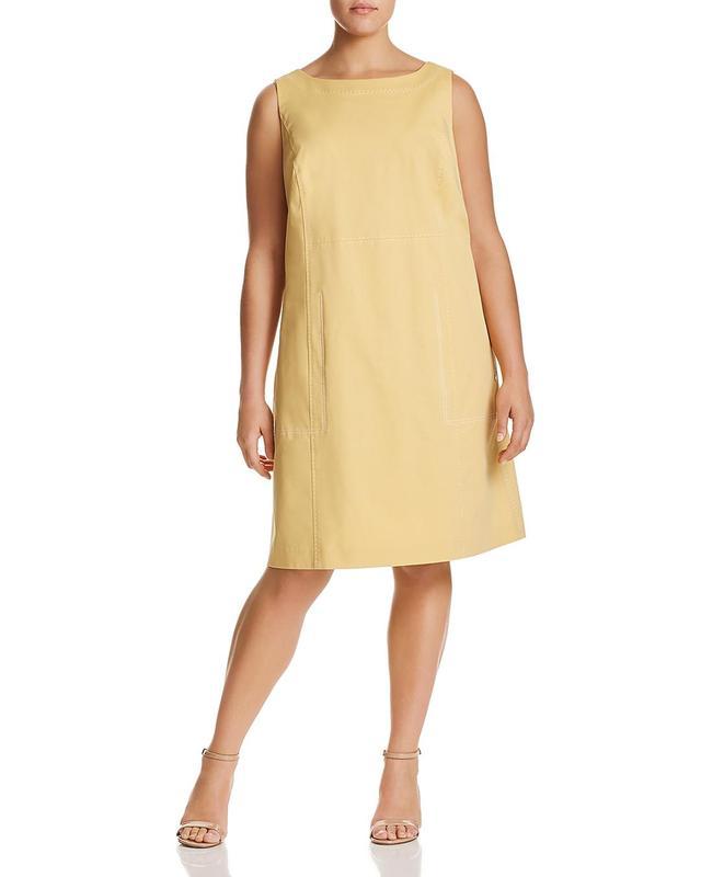 Paxton Topstitched Dress