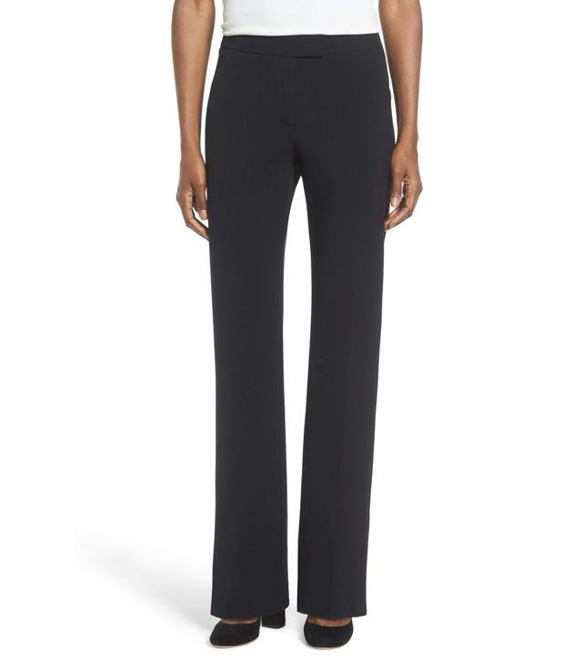 Flare Leg Suit Pants