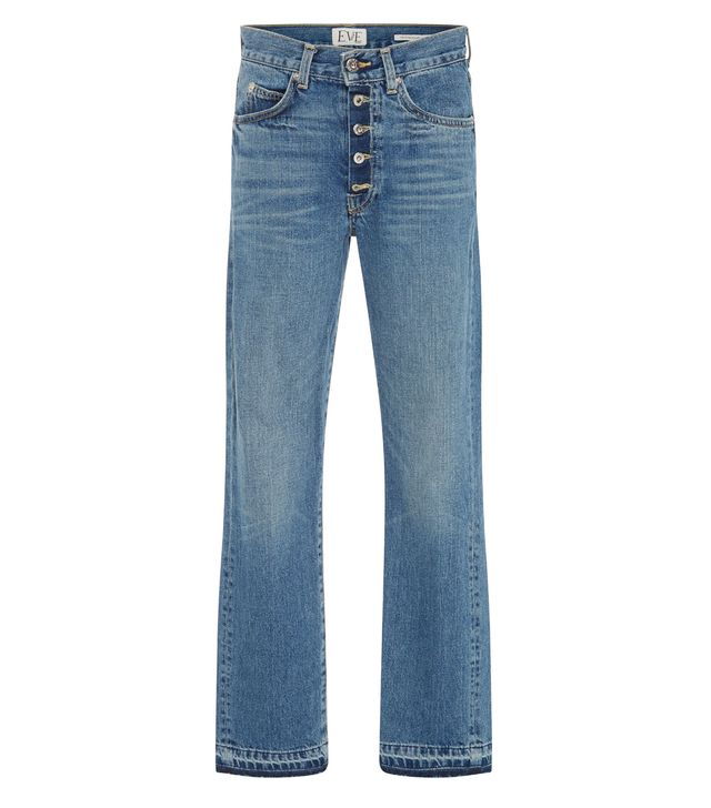 Silver Bullet Mid-Rise Straight-Leg Jeans