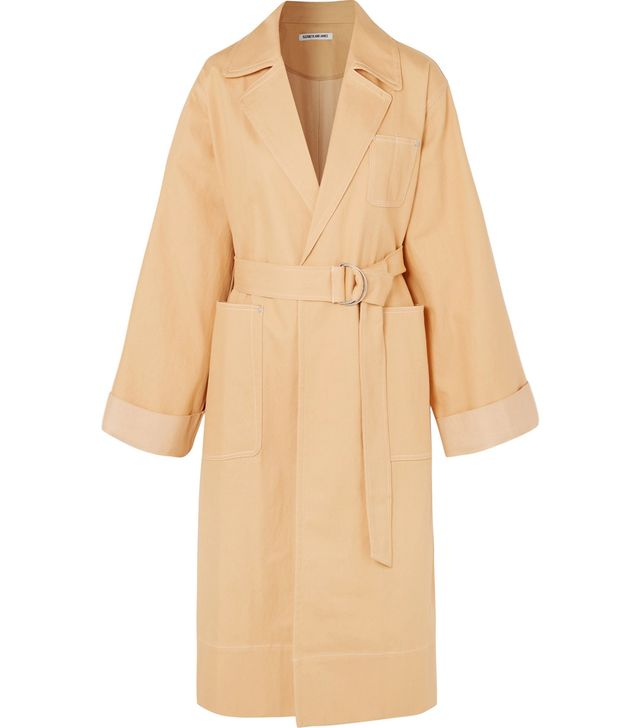 Fletcher Oversized Denim Coat