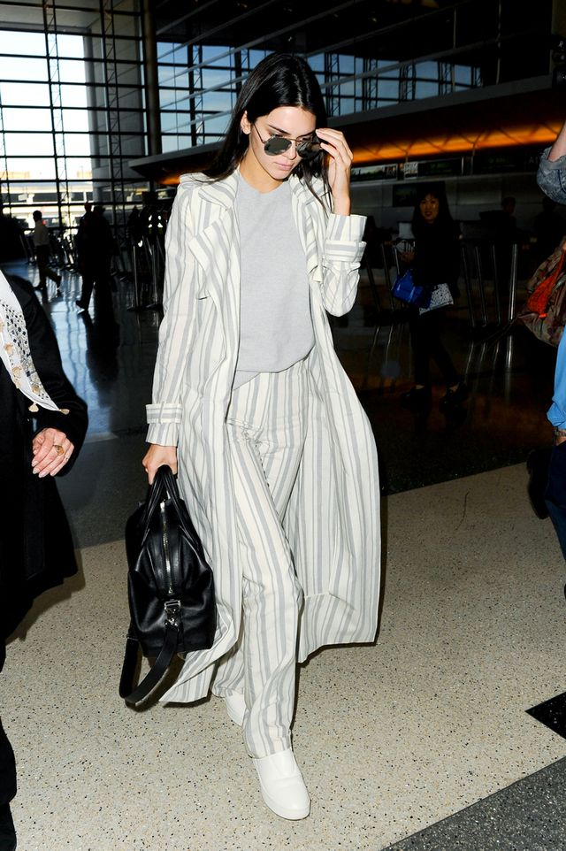 Airport outfits Kendall Jenner